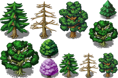 xp树木美化
