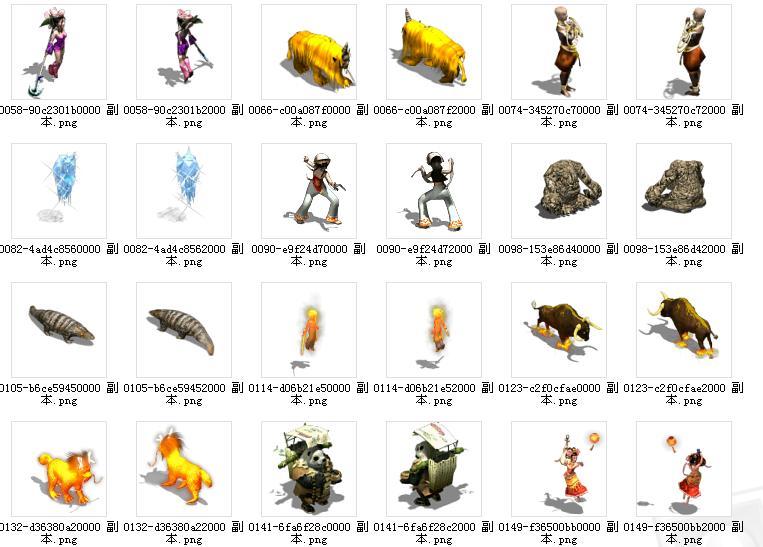 战斗图     素材 : 《qq幻想》怪物战斗图     素材 : 《冒险岛》