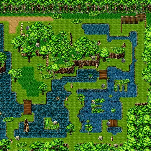 森林地图绘图工程
