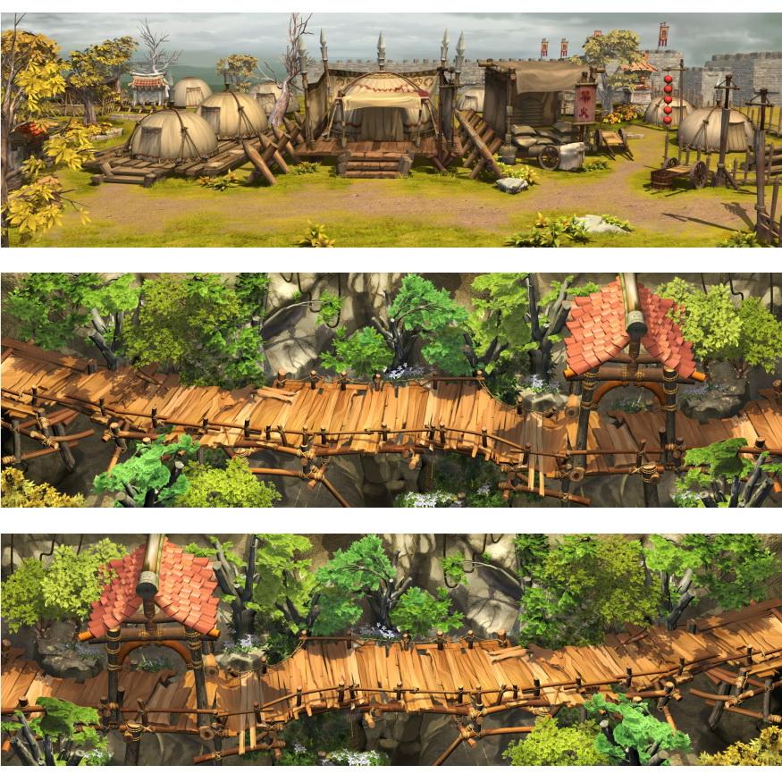 素材-幻想三国志3室外场景类型3
