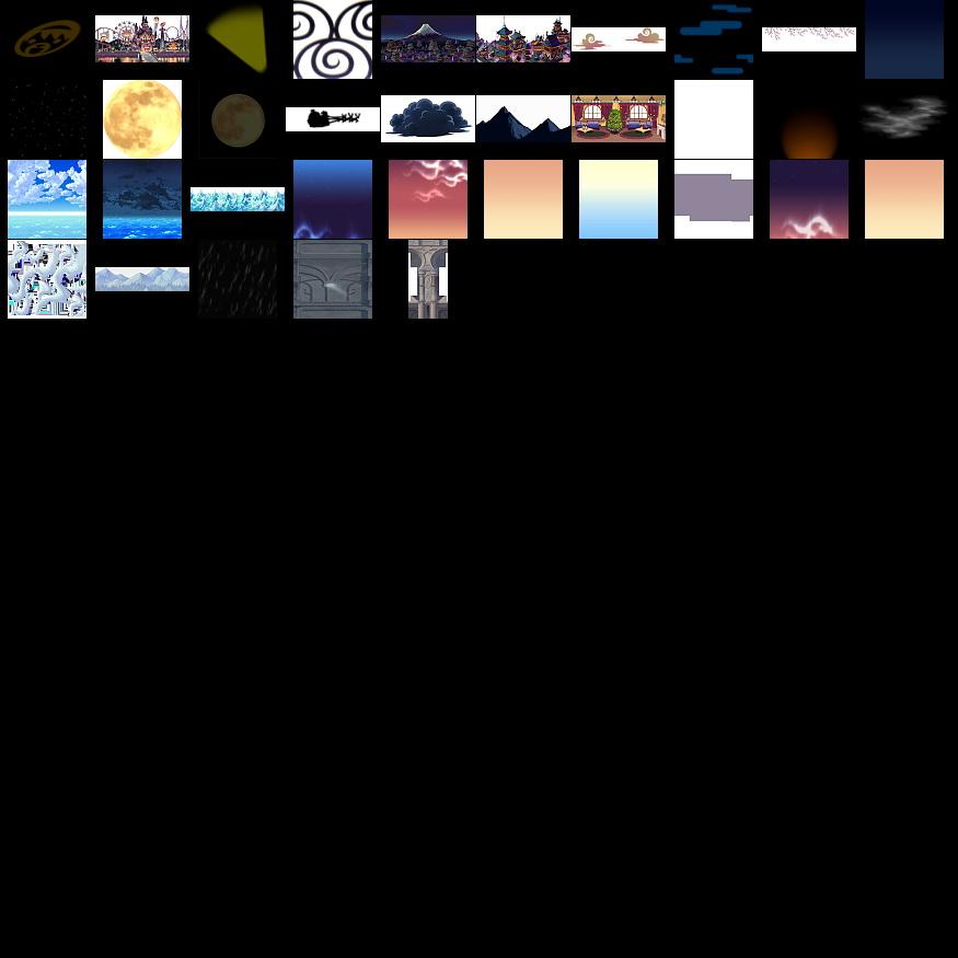 素材-《彩虹岛online》素材合集1