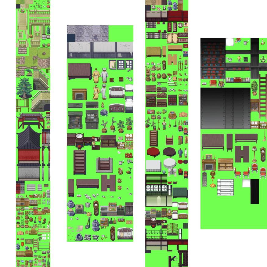 素材-古代地图素材 | 66rpg