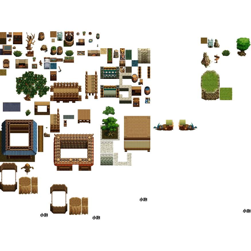 素材-《英雄传说》地图