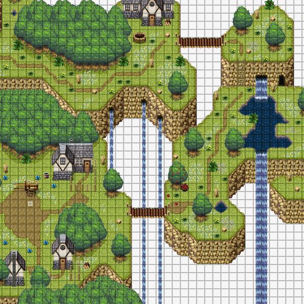 rpg游戏地图素材rpg maker xp地图素材rpg maker vx地图素材_点力图库